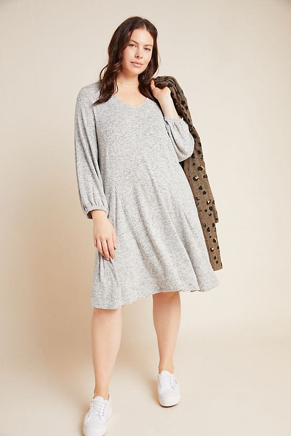 Plus Size Sweater Dresses for Women In Classic Styles -
